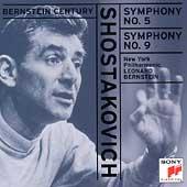 Bernstein Century - Shostakovich: Symphonies no 5 & 9