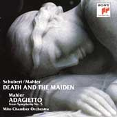 Schubert/Mahler: Death and the Maiden;  Mahler / Mito CO