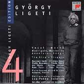 Gyoergy Ligeti Edition Vol 4 - Vocal Works / Salonen, et al