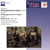 Debussy, Ravel: String Quartets;  Faure/ Tokyo Quartet