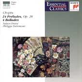 Chopin: 24 Preludes, 4 Ballades / Freire, Entremont