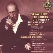 HERITAGE Stravinsky Conducts Stravinsky-Mono Years 1952-1955