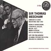 HERITAGE  Sir Thomas Beecham - American Columbia Recordings