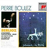 Berlioz: Symphonie Fantastique, Lelio, etc / Pierre Boulez