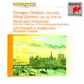 Onslow: String Quintets Opp 38, 39 & 40 / L'Archibudelli
