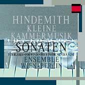 Hindemith: Kleine Kammermusik, etc / Ensemble Wien-Berlin