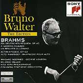 Bruno Walter Edition - Brahms: German Requiem, Alto Rhapsody