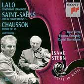 Isaac Stern - A Life In Music - Lalo, Saint-Saens, Chausson