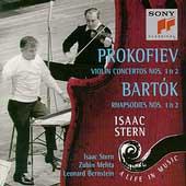 Isaac Stern - A Life In Music - Prokofiev, Bartok / Mehta