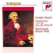 Haydn: Symphonies nos 88, 89 & 90 / Weil, Tafelmusik