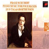 Schubert: Piano Music Four Hands Vol 2 / Tal & Groethuysen