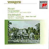 Mozart: String Quintets K 515 & 516 / L'Archibudelli