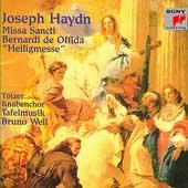 Haydn: Missa Sancti Bernardi de Offida / Weil, Tafelmusik