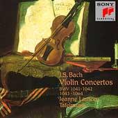 Bach: Violin Concertos / Jeanne Lamon, Tafelmusik