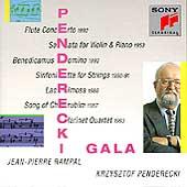 Penderecki Gala / Penderecki, Rampal, et al