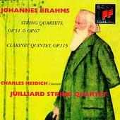 Brahms: String Quartets, etc / Juilliard Quartet, Neidich