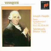 Haydn: Paris Symphonies I / Bruno Weil, Tafelmusik