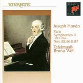 Haydn: Paris Symphonies II / Bruno Weil, Tafelmusik