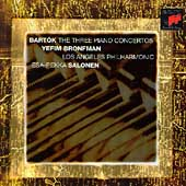 Bartok: Piano Concertos / Bronfman, Salonen, LA Philharmonic