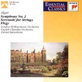 Elgar: Symphony no 2, Serenade, etc / Barenboim