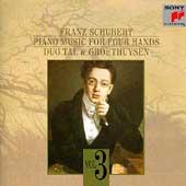 Schubert: Piano Music Four Hands Vol 3 / Tal & Groethuysen