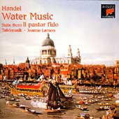 """HANDEL:WATER MUSIC/COUNTRY DANCES I & II/SUITE FROM """"IL PASTORFIDO"""" OVERTURE:JEANNE LAMON(cond)/TAFELMUSIK"""