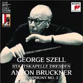 Bruckner: Symphony no 3 / Szell, Staatskapelle Dresden