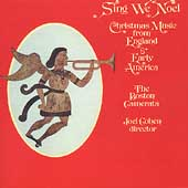 Sing We Noel / Joel Cohen, Boston Camerata