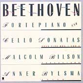 Beethoven: Fortepiano & Cello Sonatas Vol 1 / Bylsma, Bilson