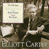 Carter: The Minotaur, Piano Sonata, etc / Schwarz, Jacobs