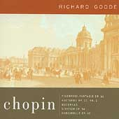 Chopin: Polonaise-Fantasie, Mazurkas, etc / Richard Goode