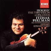 Prokofiev: Violin Concertos 1-2 / Perlman, Rozhdestvensky