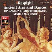 Respighi: Ancient Airs and Dances / Marriner, Los Angeles CO