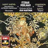 Saint-Saens, Chausson, Ravel / Itzhak Perlman, Martinon
