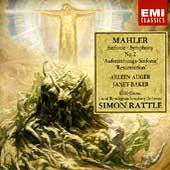 Mahler: Symphony no 2 / Rattle, Auger, City of Birmingham