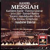 Handel: Messiah / Davis, Battle, Quivar, Aler, Ramey, et al