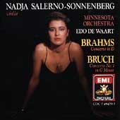 Brahms, Bruch: Violin Concertos / Salerno-Sonnenberg, Waart