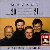 Mozart: String Quartets no 20 & 21 / Alban Berg Quartet