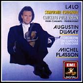 Lalo: Symphony Espagnole, Violin Concerto / Plasson, Dumay