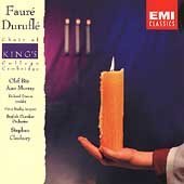 Durufle: Requiem;  Faure: Requiem / Cleobury, King's College