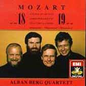 Mozart: String Quartets no 18 & 19 / Alban Berg Quartet
