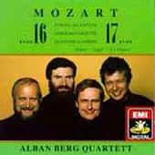 Mozart: String Quartets no 16 & 17 / Alban Berg Quartet