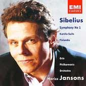 Sibelius: Symphony no 1, etc / Mariss Jansons, Oslo PO