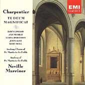 Charpentier: Te Deum, Magnificat / Marriner, Upshaw, et al
