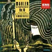 Mahler: Symphonie no 10 / Simon Rattle, Bournemouth SO