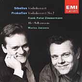 Sibelius: Violinkonzert;  Prokofiev / Zimmerman