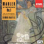 Mahler: Symphony no 1 / Rattle, City of Birmingham Symphony