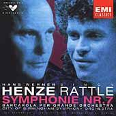 Henze: Symphonie no 7, Barcarola / Simon Rattle, Birmingham