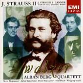 J. Strauss II, J. Strauss I, Lanner: Walzer / Berg Quartet