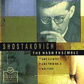 Shostakovich: Piano Quintet, etc / The Nash Ensemble